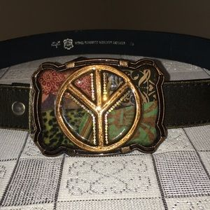 Genuine Leather Vera Pelle Classico Italia Belt